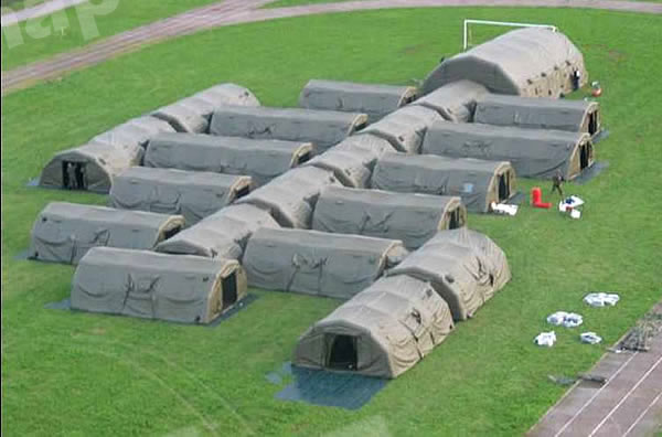 & Inflatable Military Shelter FSI-IT-001M Military Decoy